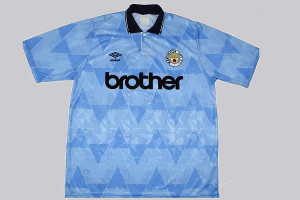 Man City and Brother Kit