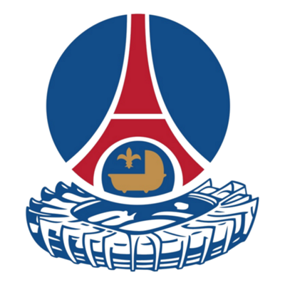 PSG crest 1982 to 1986