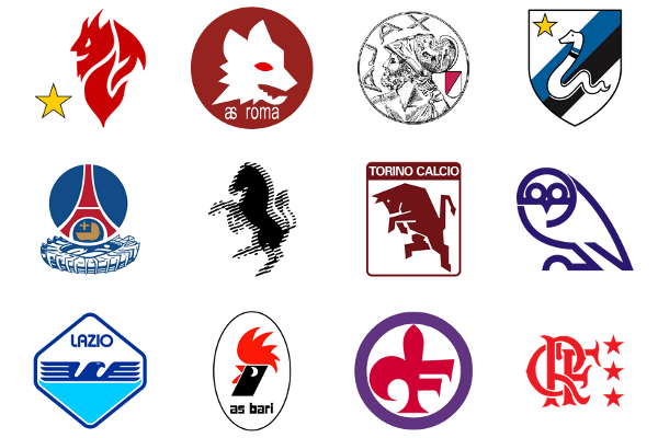 Iconic 1980s Football Club Crests
