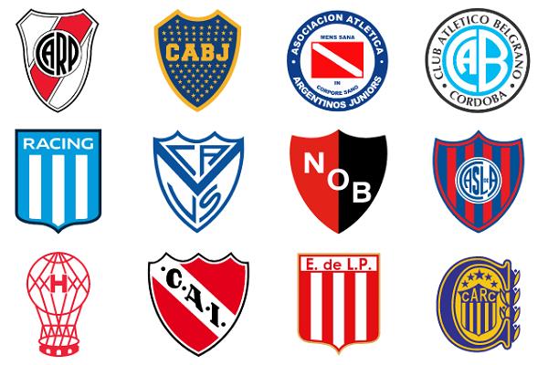 Argentine Club Crests