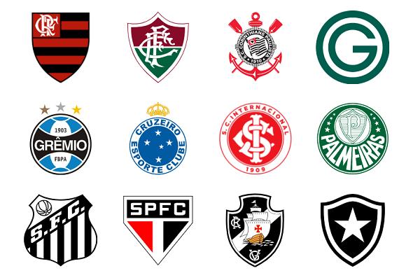 Brazilian Club Crests