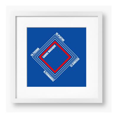 C.F. Classics Carre Magique Framed Design