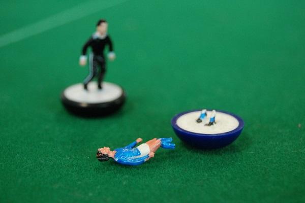 Subbuteo broken player