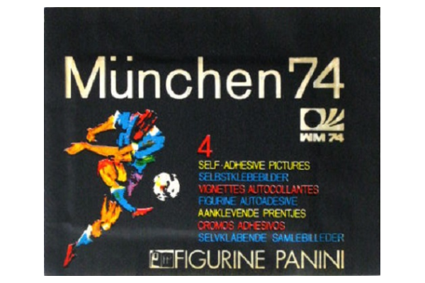 1974 World Cup Panini Packet