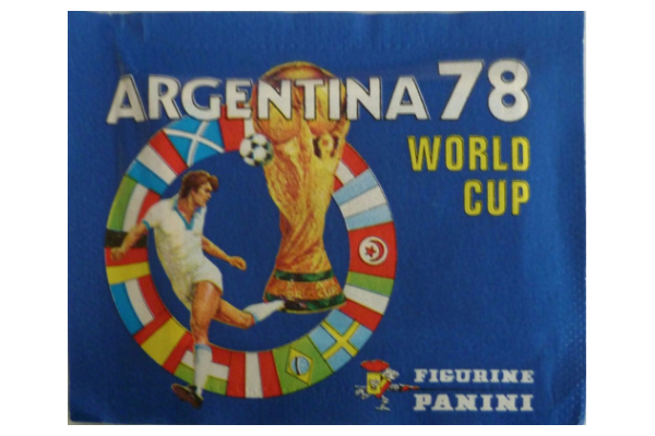 1978 World Cup Panini Packet