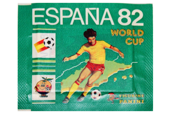 1982 World Cup Panini Packet