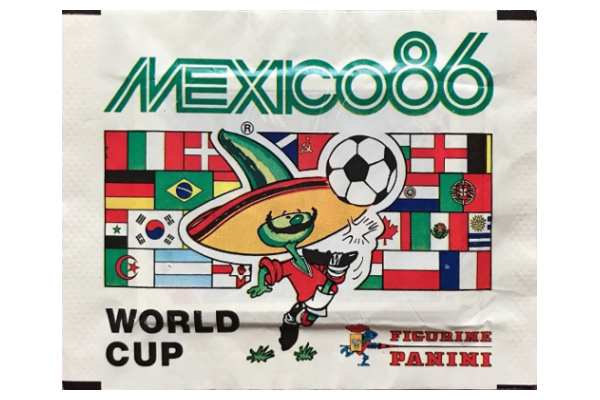 1986 World Cup Panini Packet