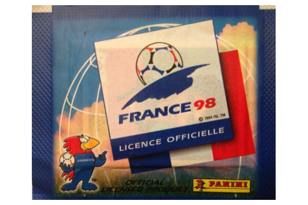 1998 World Cup Panini Packet