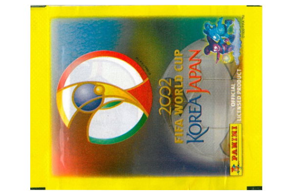 2002 World Cup Panini Packet