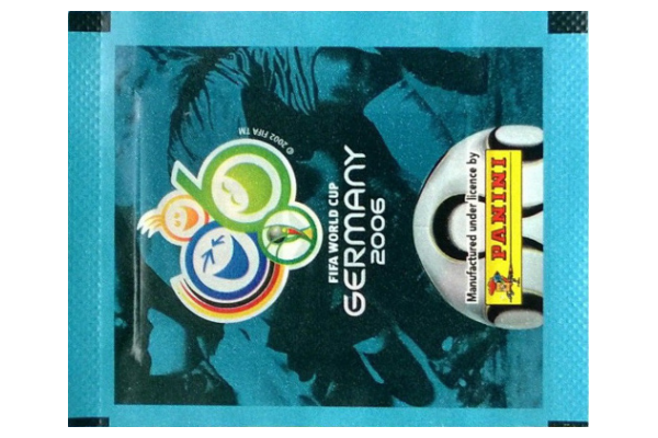 2006 World Cup Panini Packet