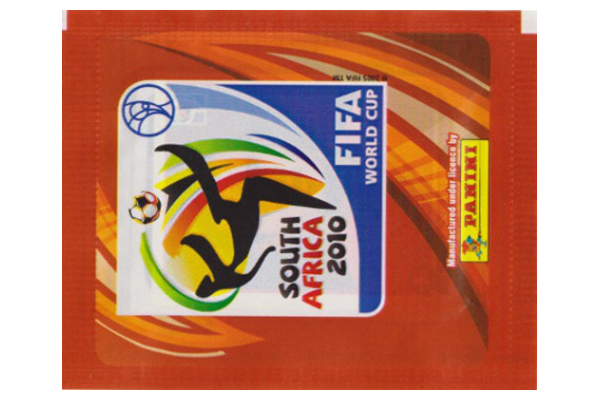 2010 World Cup Panini Packet