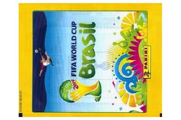 2014 World Cup Panini Packet