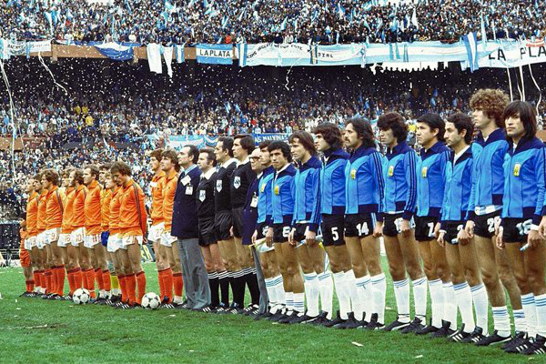 Netherlands and Argentina 1978 World Cup Final
