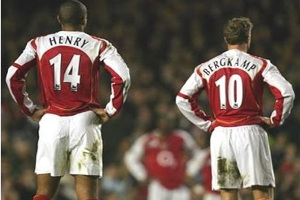 Henry and Bergkamp.