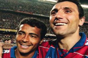 Romário and Stoichkov.