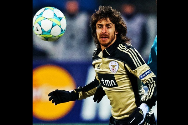 Pablo Aimar at Benfica