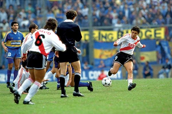 Marcelo Gallardo, RIVER PLATE vs BOCA JUNIORS 1993