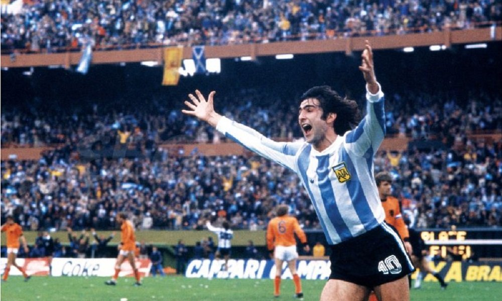 Mario Kempes 1978 World Cup Final
