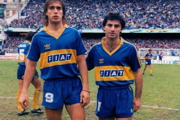 Diego Latorre at Boca Juniors 1991