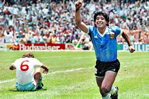 Maradona 1986 Argentina England