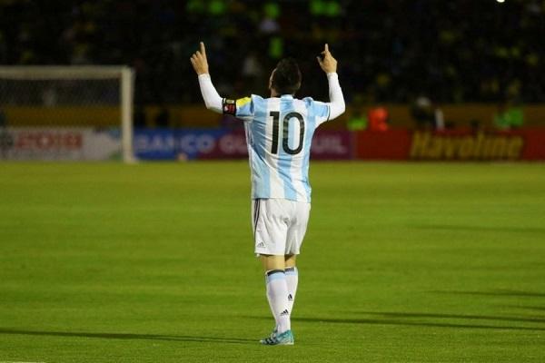 Lionel Messi Ecuador vs Argentina 2017