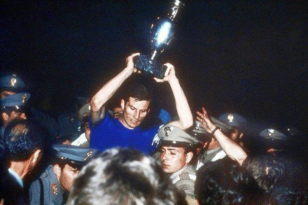 Euro 1968 Final Giacinto Facchetti
