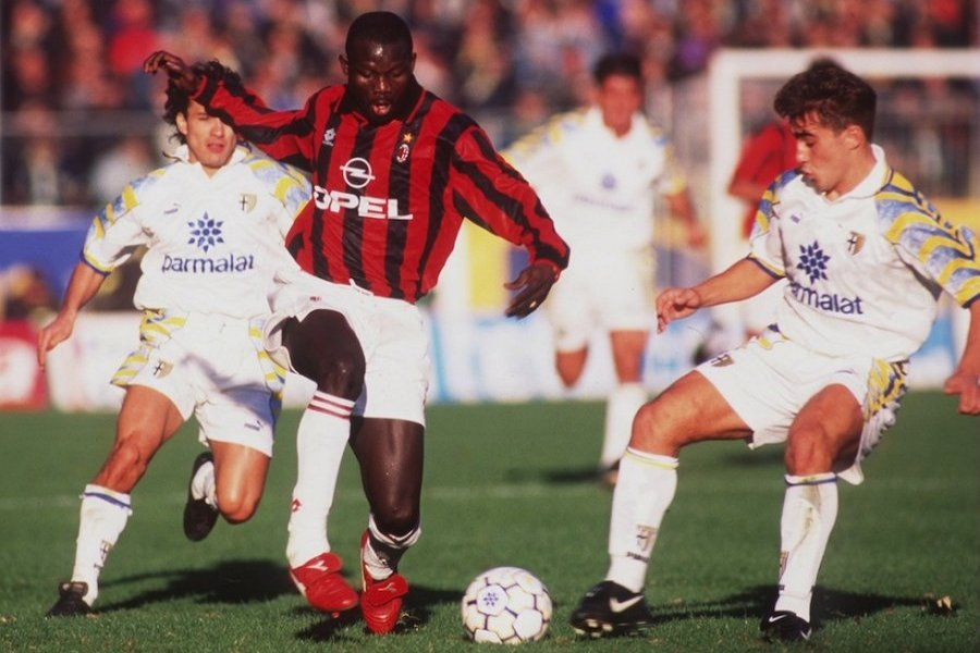 George Weah, Milan 1995
