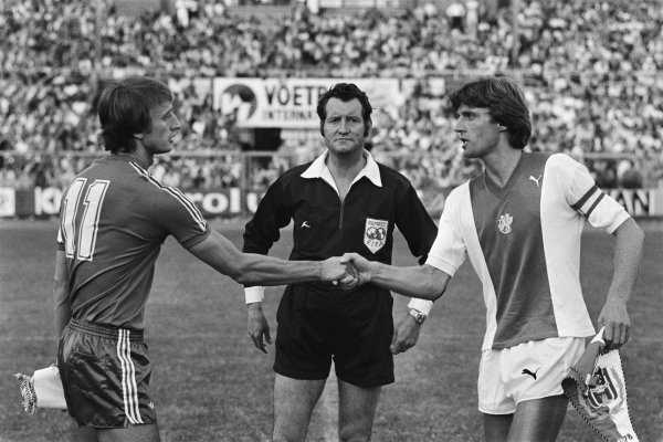 Rob Rensenbrink and Ruud Krol