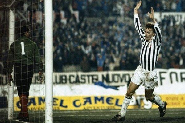 Zbigniew Boniek Juventus 1985