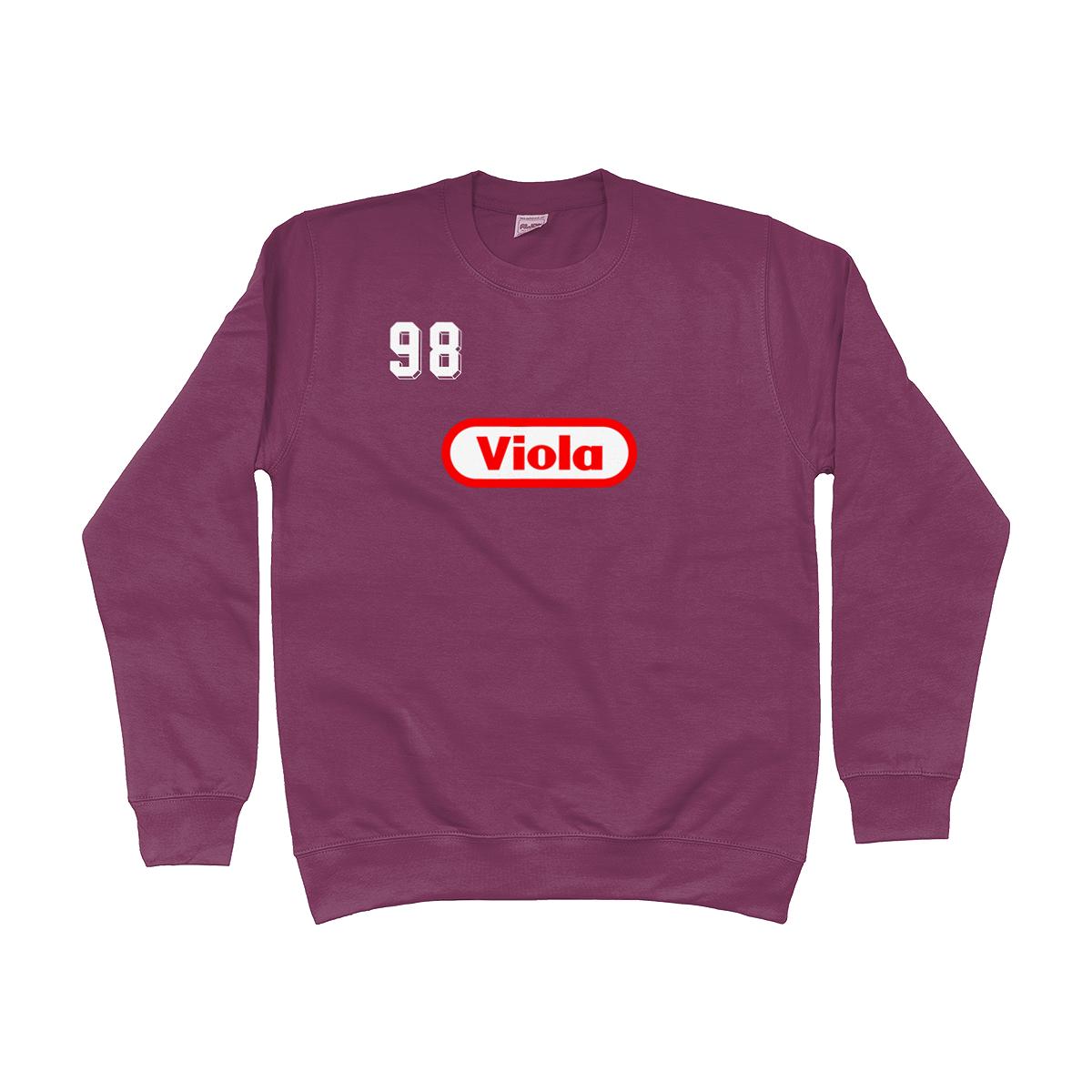 Fiorentina Viola 1998 Sweatshirt