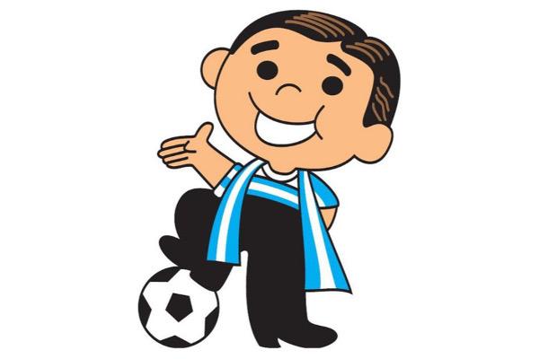 1987 Copa America Mascots