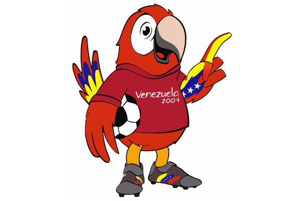 2007 Copa America Mascots