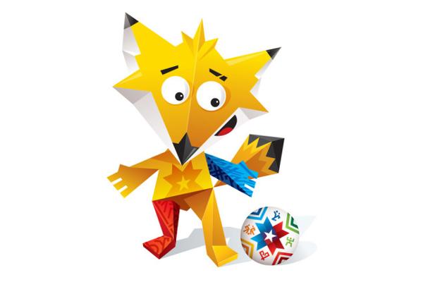 2015 Copa America Mascots