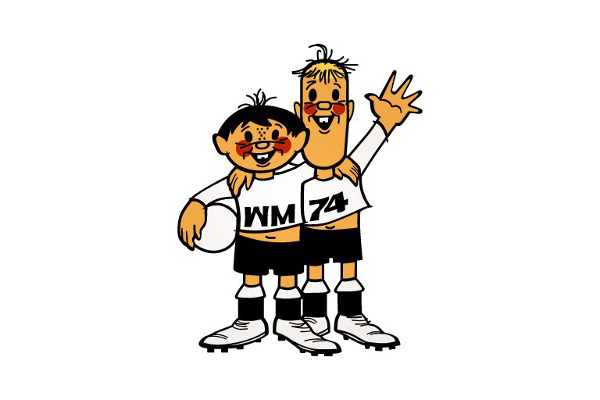 1974 Classic World Cup Mascots