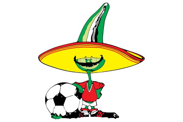 1986 Classic World Cup Mascots