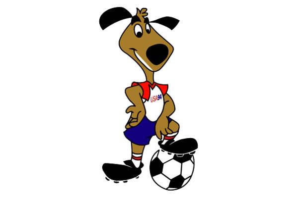 1994 Classic World Cup Mascots