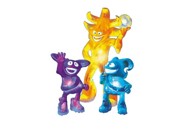 2002 Classic World Cup Mascots