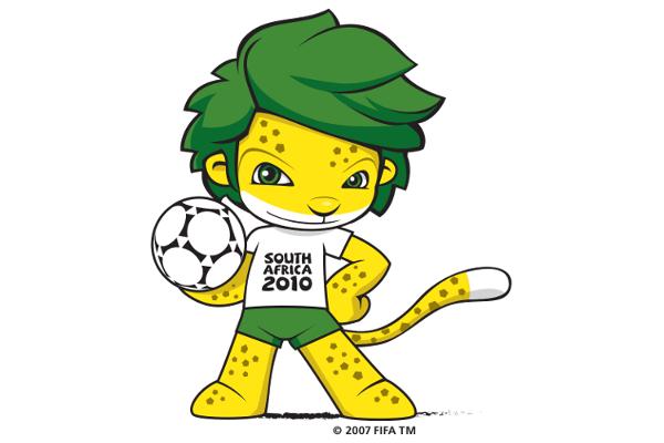 2010 Classic World Cup Mascots