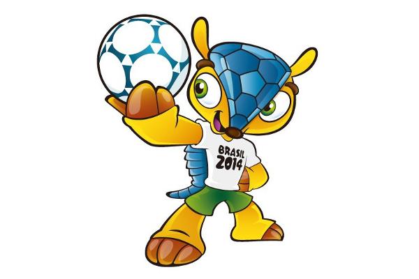 2014 Classic World Cup Mascots