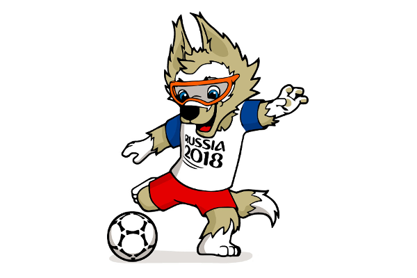 2018 World Cup Mascot