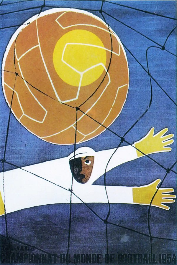 1954 World Cup Poster